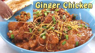 Ginger Chicken with Honey Dosa