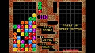 Columns (Sega Mega Drive / Genesis) - (Longplay - Arcade Mode   Hard Difficulty)