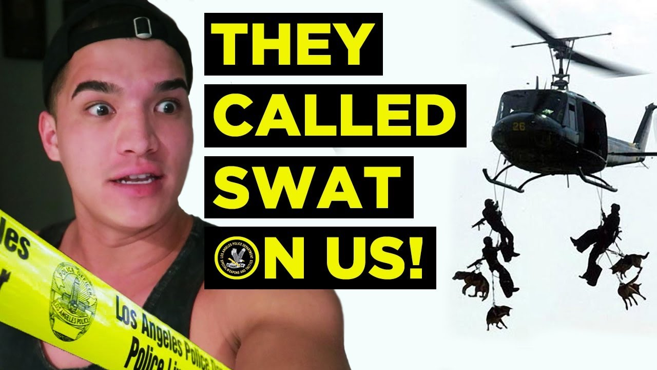 THEY CALLED SWAT ON US! **Fousey Event GONE WRONG**
