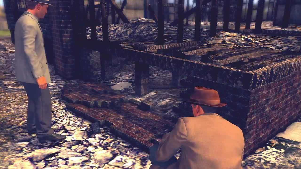 L.A. Noire: A Walk in Elysian Fields 5 STAR Walkthrough Case 2 Part 1 [The Arson Cases] Let's P