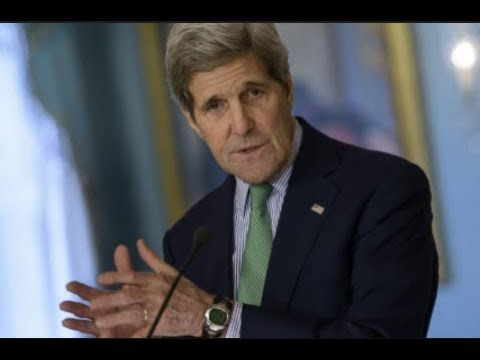 """FORMER SECRETARY OF STATE JOHN KERRY """"DONALD TRUMP IS CREATING A WORLD WIDE MESS I MIGHT BE THE ONE"""