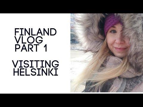 Visiting Helsinki Vlog