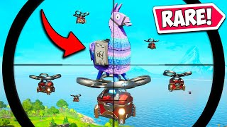 *1 IN A MILLION* RAREST LLAMA CHANCE! - Fortnite Funny Fails and WTF Moments! #1043