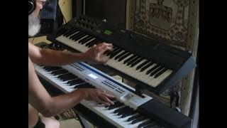 "Vangelis ""Ave"" live synthesizer jam"