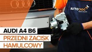 Montaż Zestaw naprawczy zacisku samemu instrukcja wideo na AUDI A4