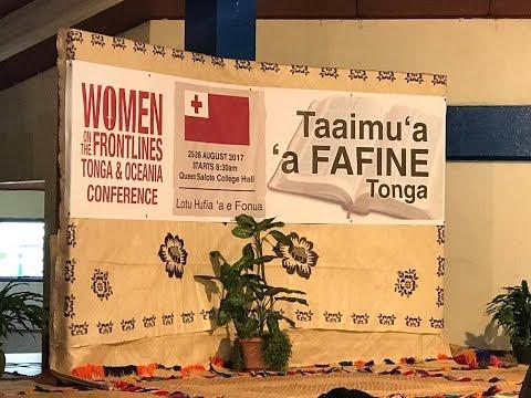 HM Queen Nanasipau'u Tuku'aho - Women on the Frontlines - Tonga & Oceania Conference
