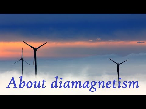 What is diamagnetism?