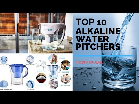10 Best Alkaline Water Pitchers 2019 | Most Popular | Unbiased Reviews