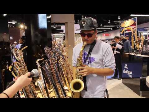 MMR with Antigua Winds at the 2017 NAMM Show