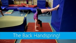 Tumbling & Flipping: The Back Handspring!