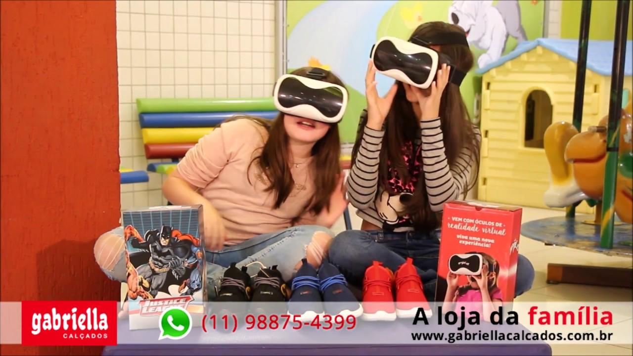 051f9523ac Tênis com óculos de realidade virtual VR - Gang da Gabriella - YouTube