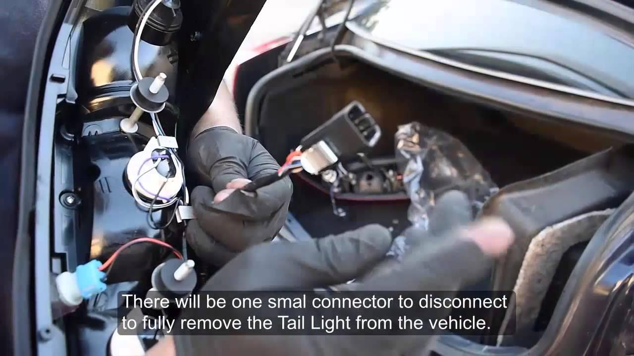 USR 03-07 Cadillac CTS DEPO Tail Light Installation - YouTube