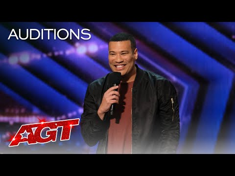 Michael Yo Gets the Audience Rolling With Jokes - America's Got Talent 2020