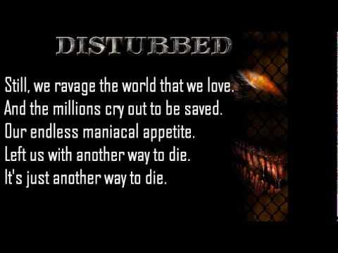Songtext von Disturbed - Another Way to Die Lyrics
