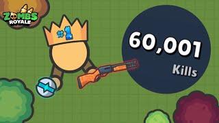 Zombs Royale io | Finally 60000 Kills!