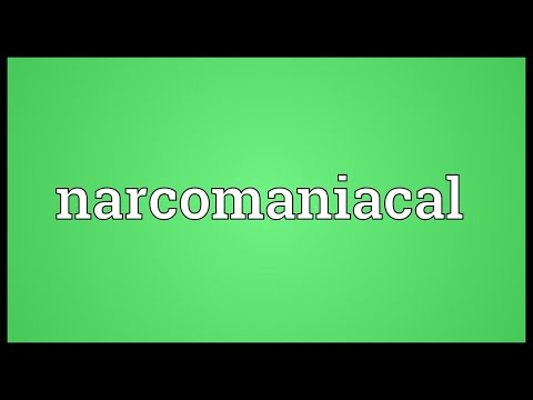 Header of narcomaniacal
