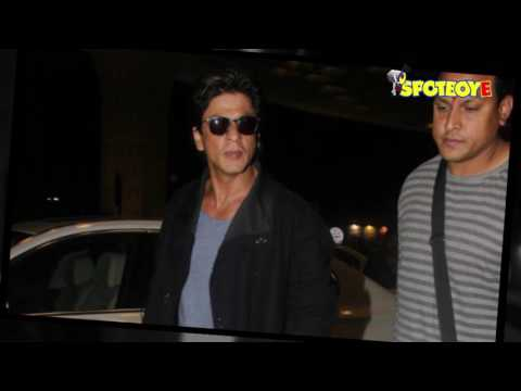 Thumbnail: SPOTTED: Shahrukh Khan slays it in his casual avatar at the Airport | SpotboyE