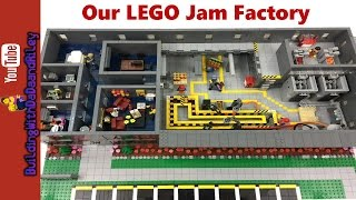 HUGE Custom LEGO MOC - Janet's Jam Factory