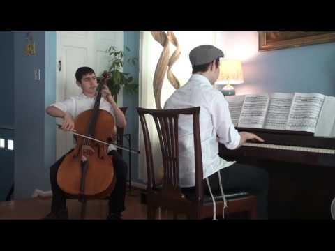Teens Soul-Stirring Kol Nidrei Duet