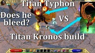 Titan Quest Ragnarok Titan VS Titan build battle