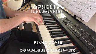 Video The Lumineers - Ophelia (piano cover & sheet) download MP3, 3GP, MP4, WEBM, AVI, FLV Juni 2018