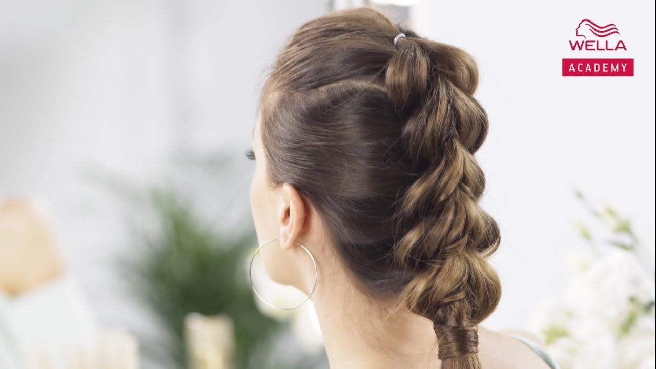 Jak Zrobić Warkocz Z Gumkami Tutorial Hair Coach Wella Polska