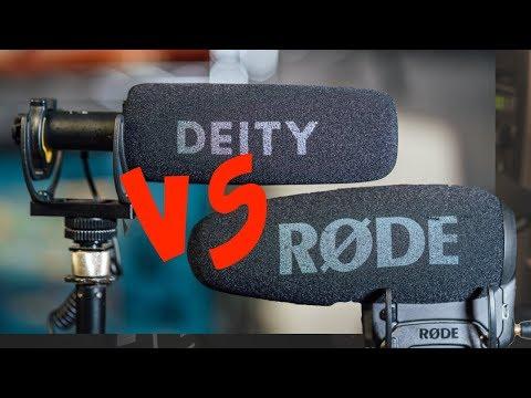RODE Vs Deity - 4 Test Comparison (with Audio)