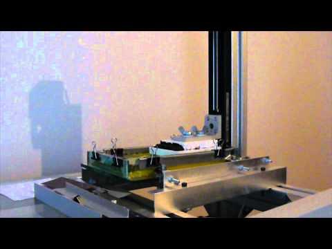 3D Printer DLP Printing with UV resin...