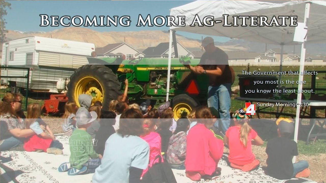 Ag Literacy - Where does my food come from? - YouTube