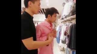 0618逆襲網絡劇刺猬夫夫日常粉襯衫p1 Counterattack webseries Chiwei daily shooting pink shirt p1 thumbnail