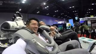 Best Roller Coaster Ever, IAAPA KUKA ROBOTICS ROLLER COASTER 2015 FUN BRAZILIAN IDIOTS 2015