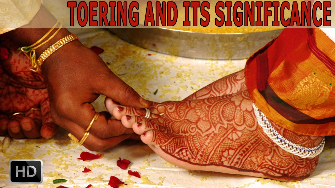 Why do Indian Married Women Wear Toe Rings - Significance and Health ...