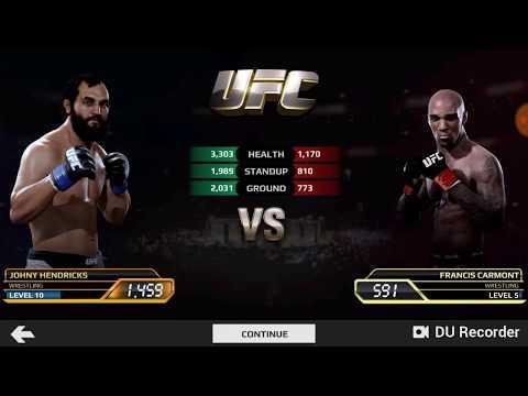 UFC Mobile Johny Hendricks Middleweight Career Mode Stage 21-25