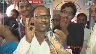 Cover images Brahmotsavam Crazy Fan Reaction | Look Black T Shirt Guy Reaction |#TopTeluguMedia