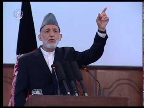 President Karzai's Farewell Speech - Sept 23,2014