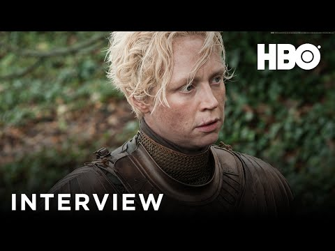 Game Of Thrones - Interview with Gwendoline Christie (Brienne of Tarth) - Official HBO UK