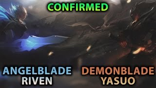 DEMONBLADE YASUO AND ANGELBLADE RIVEN CONFIRMED?! LEAGUE OF LEGENDS MISSIONS/QUESTS COMING SOON?!