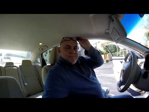 How to Remove and Replace the Drivers side Sun Visor on a Nissan!