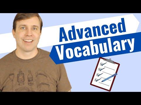 Advanced English Vocabulary | Quiz Lesson 📝