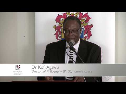 Honorary Degree: Dr Kofi Agawu