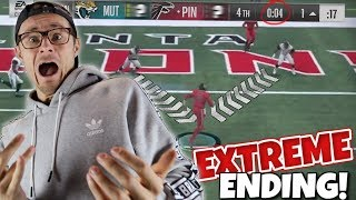 THE MOST INTENSE 4TH QTR GOAL LINE STAND DECIDES THE WHOLE GAME!! Madden 18 Packed Out