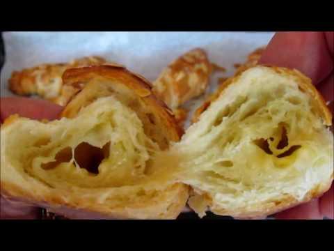Mini Cheese Almond Croissant - Baking Recipe