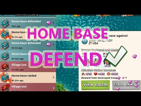 MAX BASE DEFENSE LAYOUT | Boom Beach | MAX TROOPS ATTACKING