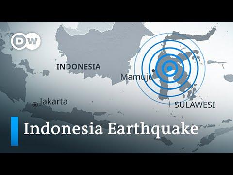 Deadly earthquake hits Indonesia's Sulawesi island   DW News