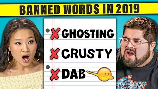 12 Words That Should Be Banned in 2019 | The 10s (React)