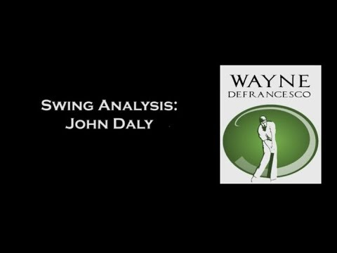 Wayne D's Golf Swing Analysis Of John Daly - Recenlty Voted 1st In GEICO's 10 Greatest