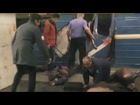 Explosion rocks St. Petersburg subway station in Russia