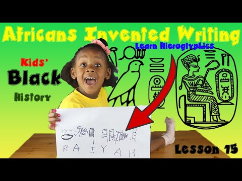 The History Of Writing For Kids
