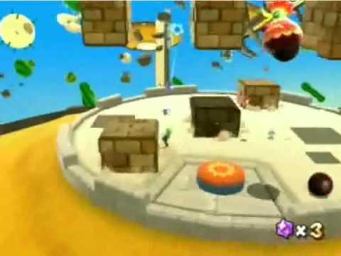 Let's Fail Super Mario Galaxy - Dusty Dune Galaxy secret ...