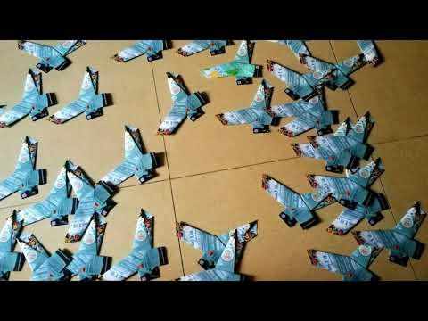 Paper folding assembly origami mandafold butterfly